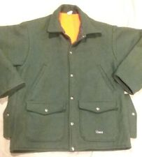 Men's Vintage CODET Wool Cruiser Hunting Coat Jacket Medium