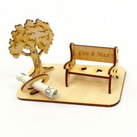 Geschenk zum Geburtstag eigene Gravur Geldgeschenk Baum Personalisiert Geschenk