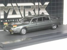 Klasse: Matrix Citroen CX Nilsson Limousine Erich Honecker DDR in 1:43 in OVP