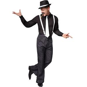 Herrenkostüm Charleston 20er Jahre Kostüm Mafiakostüm Karneval Fasching Hallowee