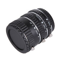 Auto Focus Macro Lens Extension Tube Close Up Adapter Ring for Canon EOS EF EF-S