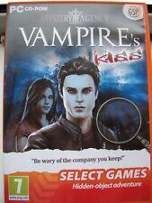 THE VAMPIRE'S KISS---MYSTERY AGENCY---HIDDEN OBJECT---PC CD---MINT