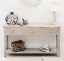 FLORENCE Console Table, Stunning kitchen hallway console table in truffle colour