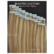 Super Adhesive Tape in Weft 20 inch 100%25 Remy Human Hair Extensions Salon Grade
