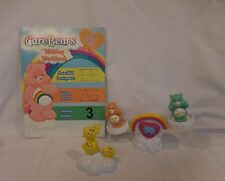 Care Bears Care A Lot Playset Teeter Totter plus Wishbear + Friendship Bear + Bo