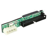"M17 7+15 Pin Buchse SATA SSD HDD auf IDE 2.5"" 3.5'' 40 Pin Konverter Adapter"
