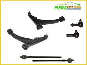 95-02 Suzuki Esteem Control Arm with Ball Joint Tie Rods Set