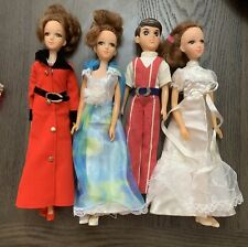 Vintage Takara Licca Dolls With Clothes