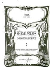 PIECES CLASSIQUES BOOK 5 HARP arranged BOUCHAUD