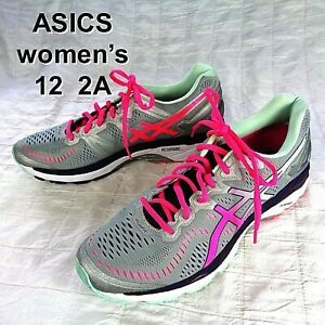 Asics Gel-Kayano 23 T699N (2A) Athletic Running Shoes Women's Size 12 + 2A Width