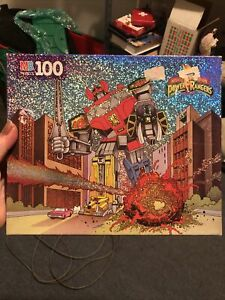 Vintage Mighty Morphin Power Rangers 1993  Puzzle 100 Piece New Sealed