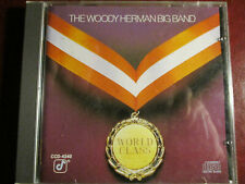 "Jazz Cd: Woody Herman Big Band ""World Class"" 1984 Concord Jazz Al Cohn John Oddo"