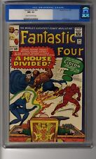 Fantastic Four # 34 CGC 9.2 Cream/OW Pgs - First Gregory Gideon - Beatles Appear
