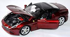 Ferrari California T closed Top 2008-15 rojo rojo metal 1:24 Bburago