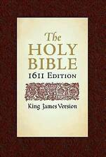 KJV Bible: 1611 Edition by Hendrickson Publishers Inc (Hardback, 2003)