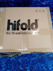 Mifold Hifold Fit-and-Fold Adjustable Highback Booster Seat in Slate Grey - 2021