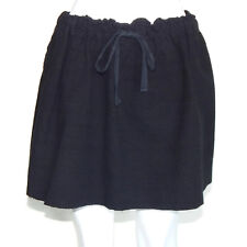 PLANTATION by ISSEY MIYAKE Japan Black Festival Boho Mini Skirt Medium - M