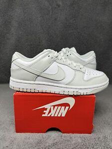 NEW Nike Women's Dunk Low Photon Dust 2021 White Grey DD1503-103 Size 6 W