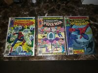 Amazing Spider-Man Lot Bronze Age 3 Issues, 198, 199 & 200 - Mysterio!