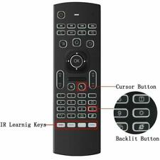 MX3 Air Fly Mouse 2.4GHz Wireless Keyboard Remote control for PC and Android Tv