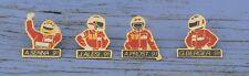 Série complète de 4 pin's team MacLaren 1991, Senna, Prost, Alesi, Berger