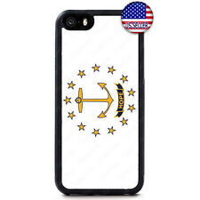 Rhode Island State Flag USA Rubber Case Cover iPhone 12 Pro Max Mini 11 XS XR