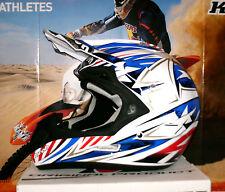 AIROH Jumper Attack Cross Helm Yamaha NEU Enduro YZ-F Honda M Blau Rot Weiß Thor
