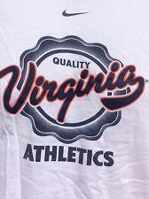 Nike Virginia Cavaliers Quality Athletics Football blue ringer t shirt sz XL
