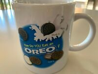 Mug Cup Coffee Tea Milk Oreo Cookie Nabisco Advertising Promotional Memorabilia