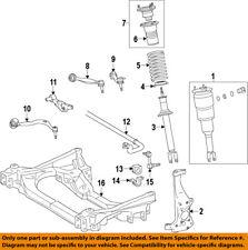 Lexus TOYOTA OEM 07-15 LS460 Front-Steering Knuckle Spindle 4320259075