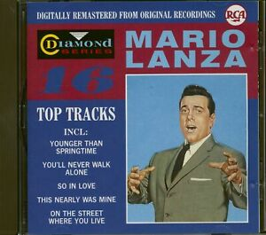 Mario Lanza - 16 Top Tracks (CD) - Pop Vocal