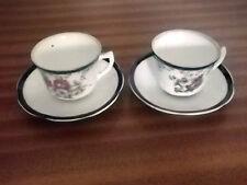 Unboxed Cups & Saucers Date-Lined Ceramics (c.1840-c.1900)