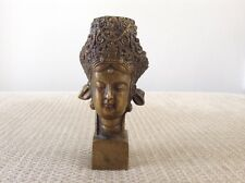 Rare Chinese Antique Buddhist Guanyin Statue Seal Collectable