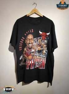Chicago Bulls Vintage NBA Scottie Pippen Graphic Shirt Vintage Men Gift Tee