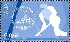 # ITALIA ITALY - 2006 - Torino Winter Olympic Games - Hockey - Stamp MNH