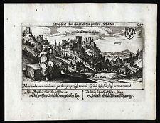 Granada i-vista con senso frase da meisners schätzkästlein per 1630 ORIGINALE