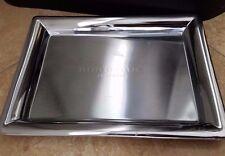 BURBERRY Silver Mirror Vanity Tray Mirrored Perfume Fragrances BONUS RIBBON