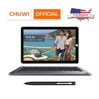 CHUWI Hi10 Air Tablet/Laptop Convertible Windows Intel Quad Core 64GB Tab Set US
