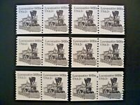 USA 1982 Lot of 6 #1897A Transportation Issue Coil Pairs MNH - See Description