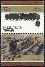 1942 SNCF Class 141-P / 141P Chapelon (2-8-2) France Train Stamps / LOCO 100