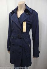 Kurzmantel-Stil mit klassischem Ausschnitt Damenjacken & -mäntel ohne Muster