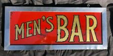 Vintage Reverse Glass Painted Bar Sign Breweriana