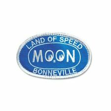 Mooneyes Bonneville Land of Speed Aufnäher/Patch blau Salzsee 1/4 Mile Speedweek