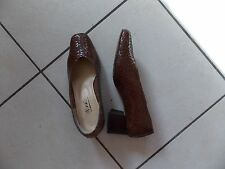 CHAUSSURES FEMME CUIR T 36 MINELLI