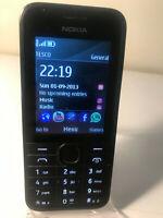 Nokia 208 - Black (Unlocked) Mobile Phone