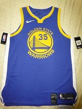 841a2a642 Mens Authentic Cut Nike NBA Kevin Durant Golden State Warriors Jersey 48 L
