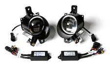 2pcs New Dual Lens Front LED Fog Light Kit 4500K for Cadillac SRX 10-15 fog lamp