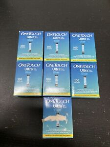 One touch Ultra Retail test strips. 700 Strips
