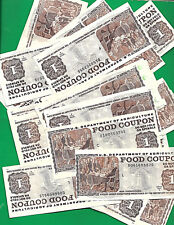 FOOD Stamp Coupon 2000 B $1.00 MONTH CODE & SERIAL # WILL VERY