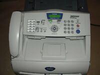 Brother Intellifax 2920 Super G3 33.6 Kbps High Speed Laser Fax Machine